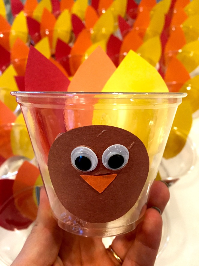 Thanksgiving Turkey Cups for a Festive Feast