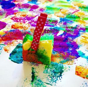 Sponge Painting