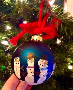 Homemade Children's Christmas Ornaments