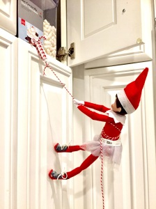 The Elf On The Shelf Ideas Climbing