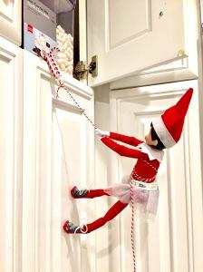 The Elf On The Shelf Ideas Climbing
