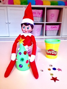 The Elf On The Shelf Ideas Playing With Play Doh