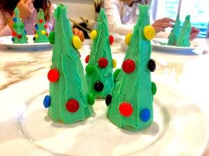 Ice Cream Cone Christmas Tree Kids Craft