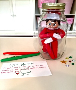 The Elf On The Shelf Ideas Elf In A Jar