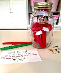 The Elf On The Shelf Ideas Elf In A Jar