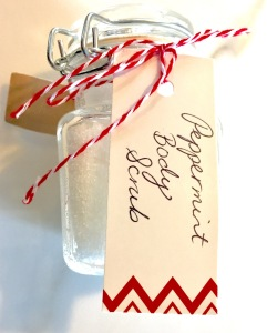 Homemade Sugar Body Scrub Gift
