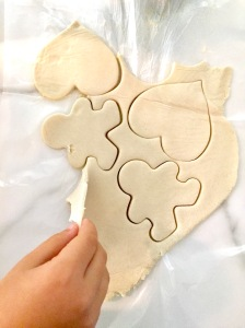Making Salt Dough Ornaments
