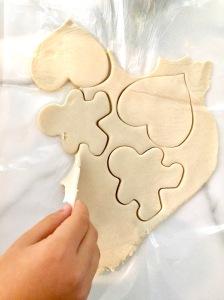 Making Salt Dough Ornaments