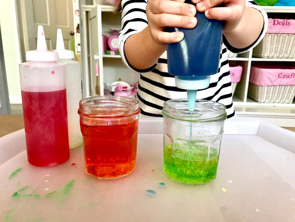 Color Mixing With Preschoolers